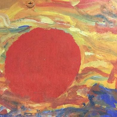 Abstract Sun Painting